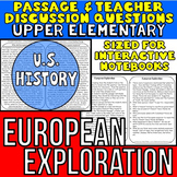 European Exploration {Close Reading Passage for UPPER ELEMENTARY}