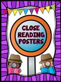 Close Reading Posters/Anchor Charts