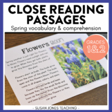 Close Reading for 1st Grade (Spring Edition)