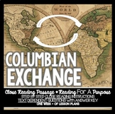 Close Reading of the Week: Columbian Exchange