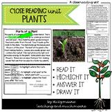 Close Reading { plants }