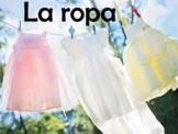 Clothing (La Ropa) Power Point Presentation in Spanish (62
