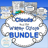 Clouds and the Water Cycle BUNDLE (Charts, Flash Cards, Ta