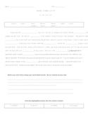 Cloze Word Hunt: Syllables & Affixes: Suffixes -er/-est/-i
