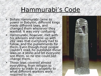 hammurabi code of laws fair or unfair