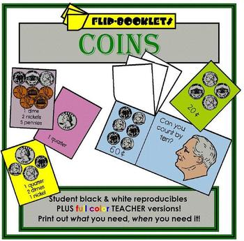 Coin Flip Booklets