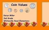 Coin Values - ActivInspire Container Flipchart Fun