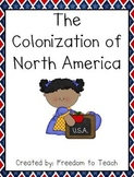 Colonization of North America UNIT Projects*Games*Study Gu