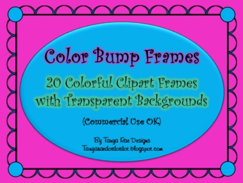 Color Bump Frames (With Transparent Backgrounds)