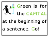Color Coding Conventions for Sentence Writing