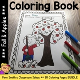 Color For Fun - Fall and Apples - Coloring Pages - Printables