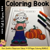 Color For Fun - Fall and Farm - Coloring Pages - Printables