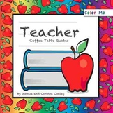 Color Me Teacher Coffee Table Quotes [Paperback]