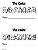 Color Orange Emergent Leveled Reader ** Perfect for Read to Self