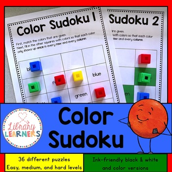 Color Sudoku Center