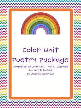 Color Unit Poetry Package