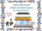 Color and Count: A Real Life Math Activity (nutrition/heal