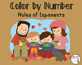 Color by Number : Rules of Exponents
