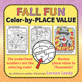 Place Value Pictures for Fall Fun!