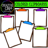 Colored Clipboards {Creative Clips Digital Clipart}