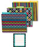 Colorful Chalkboard Office Decor Set SALE 20% OFF 144932