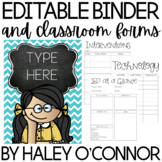 Colorful Editable Teacher Planner