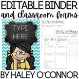 Colorful Editable Teacher Planner