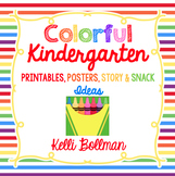 Colorful Kindergarten {Color Days unit}