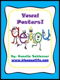 Colorful Vowel Posters