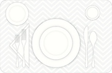 Coloring Page - Table Placesetting