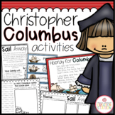 Columbus Day Activities Pack