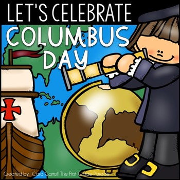 Columbus Day Math & Literacy Printables & Craftivities