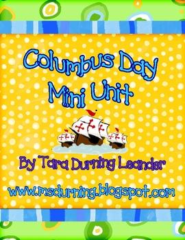 Columbus Day Mini Unit