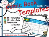 Comic Strip Writing Templates Common Core