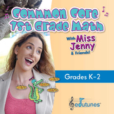 Common Core 1st Grade Math: 38 Downloadable Songs + Book -