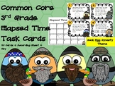 Common Core 3rd Grade Elapsed Time Task Cards-Duck Egg Dynasty!