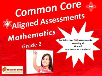Common Core Aligned Assessment Bank Mathematics Grade 2