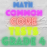 Common Core Assessments Bundle Grade 4