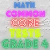 Common Core Assessments Bundle Grade 4