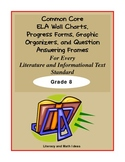 Common Core Charts, Organizers & Progress Forms For Each S