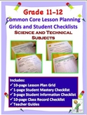 Common Core Checklists Science and Technical Standards for