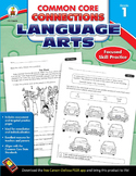 Common Core Connections Language Arts Grade 1 SALE 20% OFF