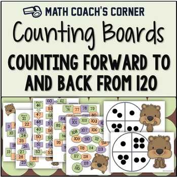 Common Core: Counting Boards, Counting to and from 120