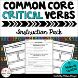 Common Core Critical Verbs Instruction Pack