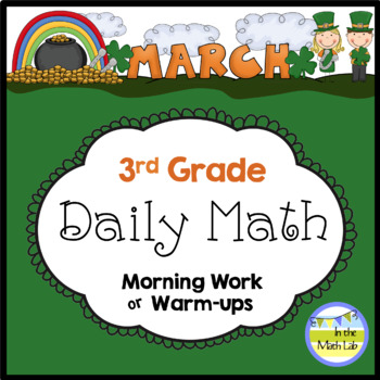 Daily Math for 3rd Grade - March Edition