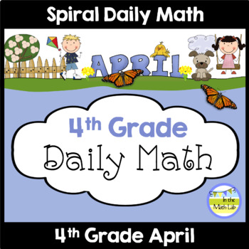 Daily Math for 4th Grade - April Edition