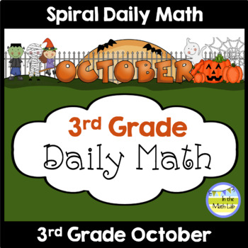 Daily Math for 3rd Grade - October Edition