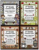 Common Core Daily Practice for Second Grade (Fall Bundle)
