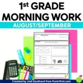 Common Core Differentiated Morning Work for August/September
