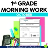 Common Core Differentiated Morning Work for October